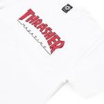 Camiseta Thrasher Outlined White