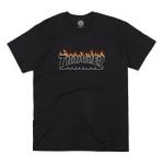 Camiseta Thrasher Scorched Black