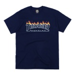 Camiseta Thrasher Scorched Navy