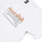 Camiseta Thrasher Scorched White