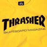 Camiseta Thrasher Skate Mag Yellow