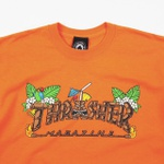 Camiseta Thrasher Tiki Laranja