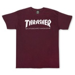 Camiseta Thrasher Skate Mag Bordô