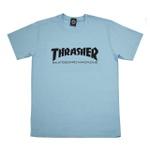 Camiseta Thrasher Skate Mag Sky Blue