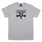 CAMISETA THRASHER SKATEGOAT GREY