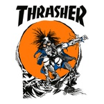 CAMISETA THRASHER OUTLAW WHITE