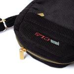 "Corduroy Side Bag Class ""CLS"" Black"