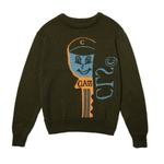 Sweater Class Chave Green