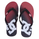 DC Shoes Sandals Spray Graffik Black Red Print