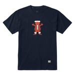 Camiseta Grizzly Tee Bear Football Navy