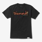 Camiseta Diamond Paradise OG Script Black