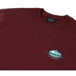 Camiseta Disturb Five Senses Burgundy