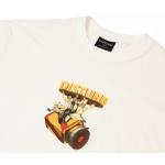 Camiseta Disturb Main Course Off White