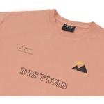 Camiseta Disturb Breaking Beyond Horizon Tee Pink