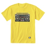 Camiseta Grizzly Boom Box Yellow