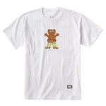 Camiseta Grizzly Thug Bear White