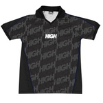 Camiseta HIGH Soccer Logo Black White