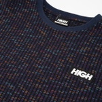 Jacquard High Tee Kidz Navy