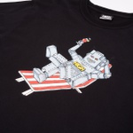 Camiseta High Tee Robot Black