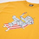 Camiseta High Tee Robot Yellow