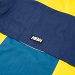 Rain Jacket High Yellow Navy
