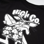 Camiseta High Tee Beach Rat Black