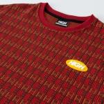 Camiseta High Tee Tapestry Burgundy Brown