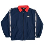 Zipped Jacket High Stripes Navy