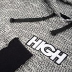 Fleece Hoodie High Heater Black
