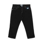 Chino Pants High Colored Black Blue