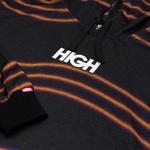 Hoodie High Wavy Kidz Black