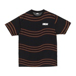 Camiseta High Tee Kidz Wavy Black