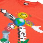 Camiseta High Tee Zord Orange