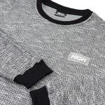 Tweed Longsleeve High Black
