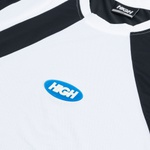 Dry Fit High Tee Lit Black White