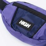 Money Bag Reflective High Purple