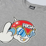 Camiseta High Space G Heather Grey