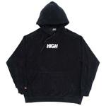 Terry Hoodie High Logo Black