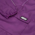 Water Resistant Anorak High Purple