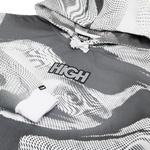 Melt Hoodie High Logo Black