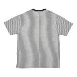 Camiseta High Kinitted Tee Blocks White