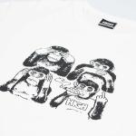 Camiseta High Tee Monkeys White