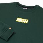 Crewneck High Logo Colored Green