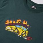 Camiseta High Tee Hot Car Night Green