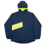 Water Resistant Jacket High Diagonal Navy