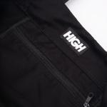 Overdyed Denim Tote Bag High Black