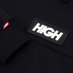 Block Hoodie High Black