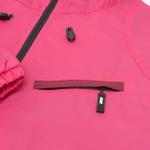 Diagonal Jacket High Pink Wine