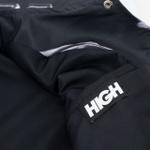 Coach Jacket High Metalic Black