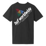 Camiseta HUF Peak Sportif Black
